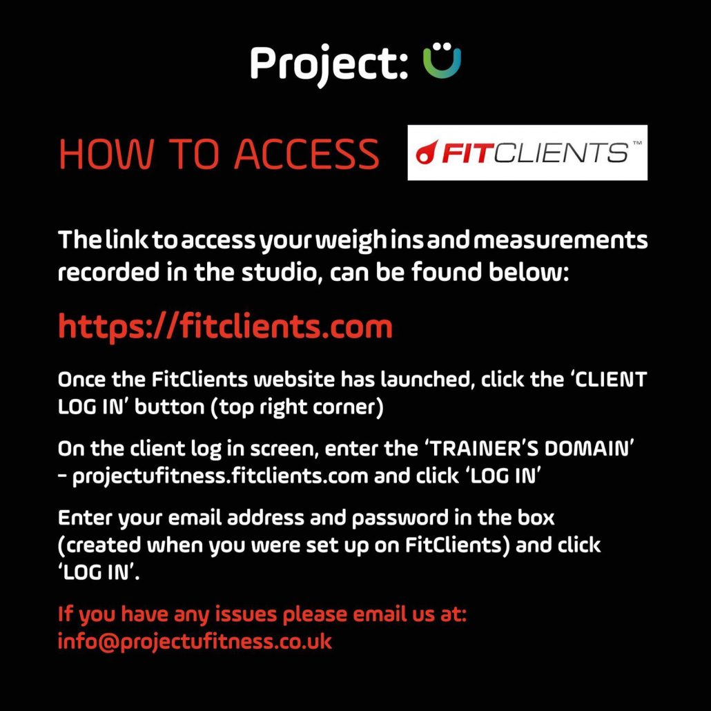 Events - Project:U Fitness